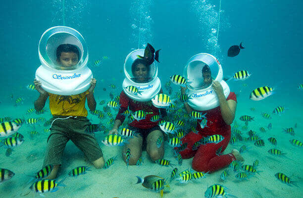 Best Place for Sea Walk in Andaman and Nicobar Islands: Price, Age limit for under sea walk